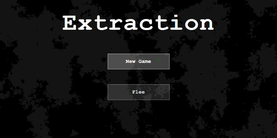 Extraction - Intro Screen