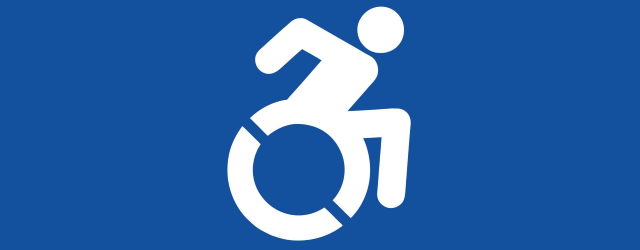 New wheelchair symbol
