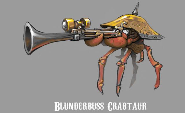 Blunderbuss Crabtaur