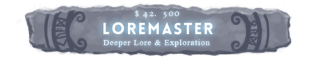Through the Woods: Loremaster Stretch Goal